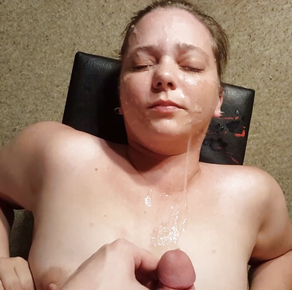 cumshot on her tongue gif
